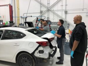 Fix Network's training centers are designed to meet the ongoing development needs for auto body technicians