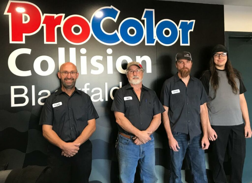 ProColor Collision opens new location in Blackfalds, Alberta