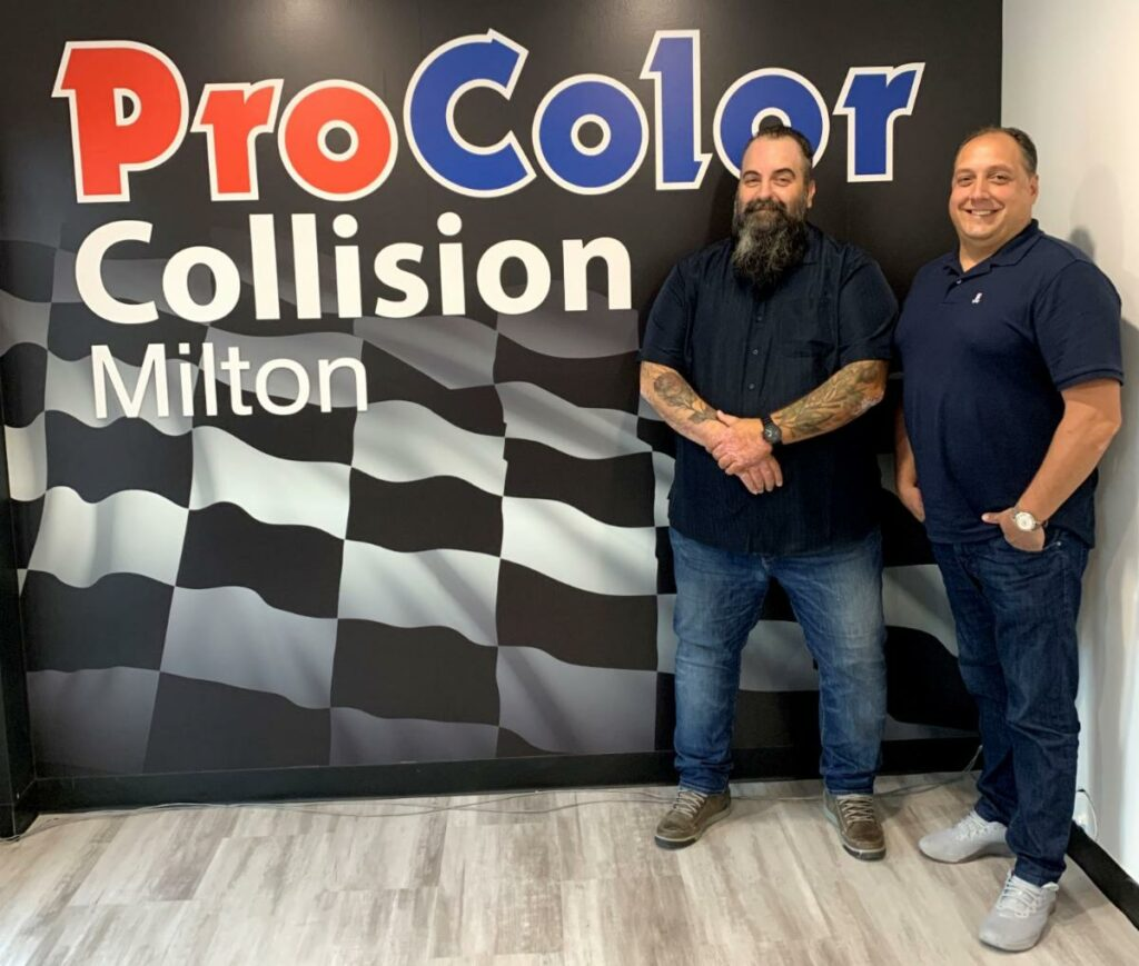 ProColor Collision opens new location in Milton, Ontario