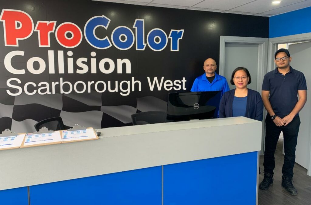 ProColor Collision opens new location in Scarborough, Ontario