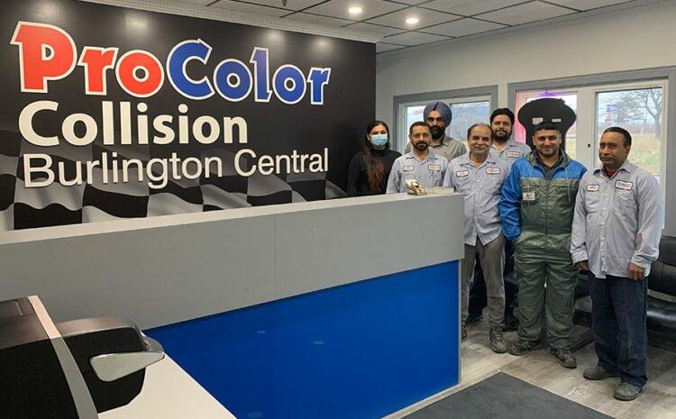 ProColor Collision Welcomes New Location in Burlington Central