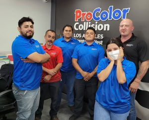 Owner-operator Mark Kim and his team seek to offer the most advanced collision repair services in the heart of Los Angeles.
